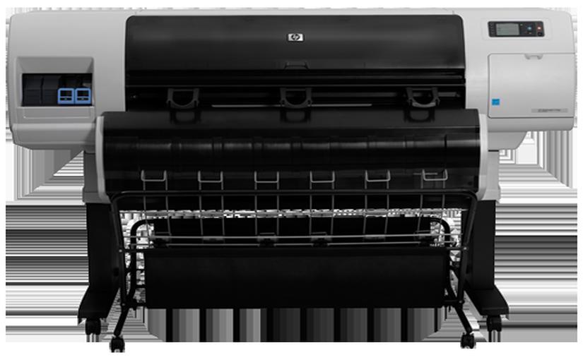 PS скрипт форматов бумаги HP Designjet T7100