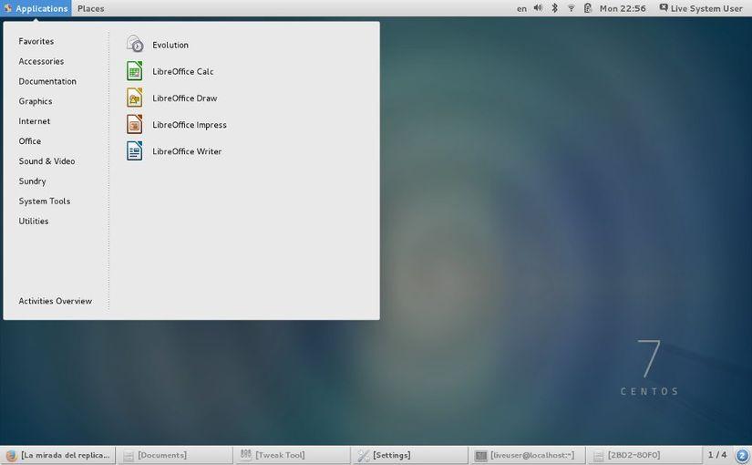 Удалённый рабочий стол Linux CentOS 7